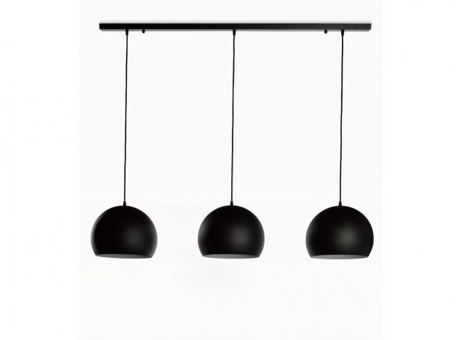 Hanglamp GUGGENHEIM x3 - Zwart