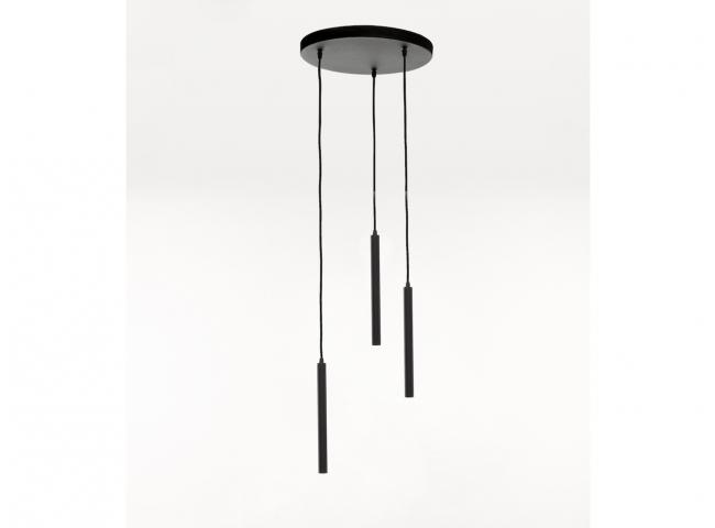 Hanglamp TEL AVIV 3x - Zwart