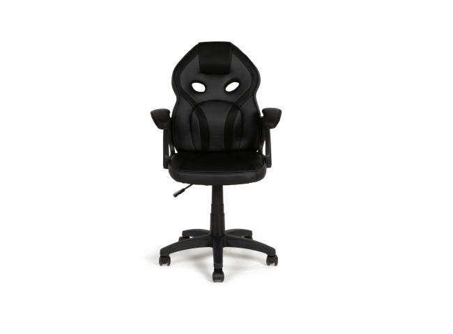 Bureaustoel KIDZ - Zwart/zwart