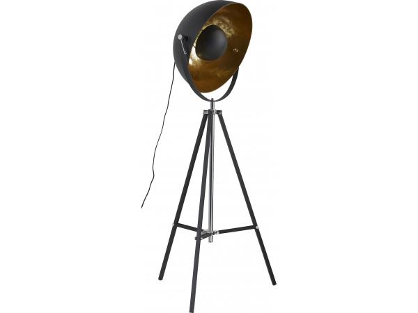vloerlamp zwartgoud kleur zwartgoud 718 807044