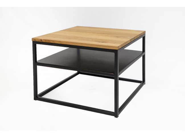 Hoektafel FA - Zwart/hout