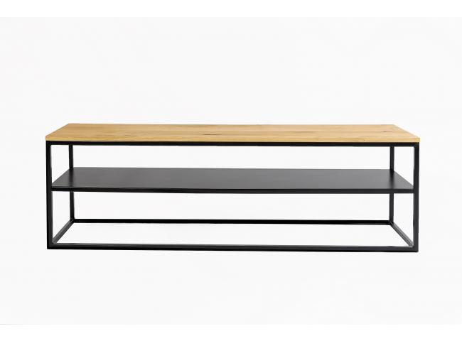 Tv-meubel FA - Zwart/hout