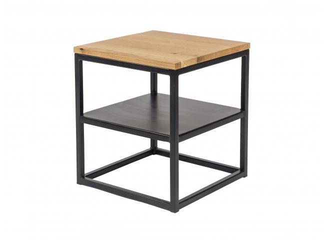 Bijzettafel FA - Zwart/hout