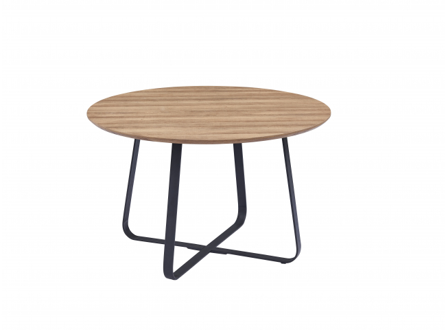 Ronde tafel NOVA - Hout/metaal