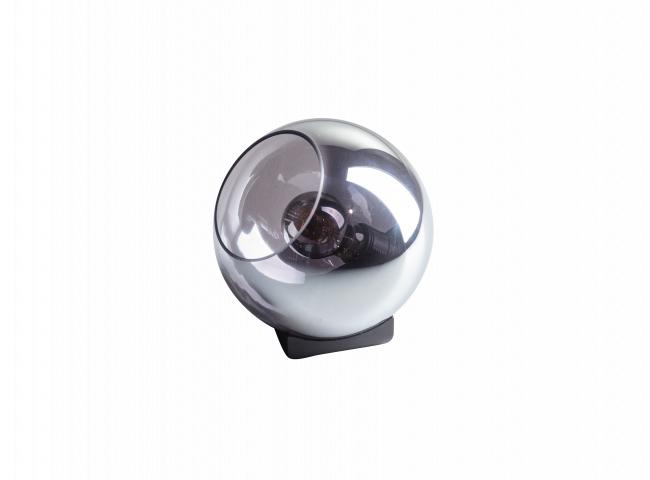 Tafellamp ORB - Zwart glas
