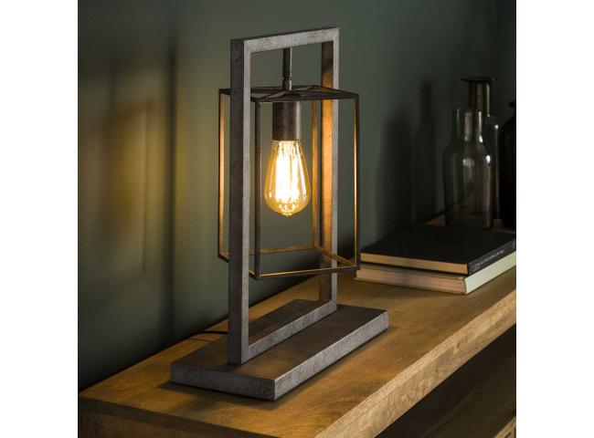 Tafellamp CUBIC TOWER - Oud zi