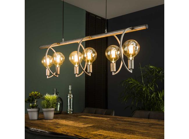 Hanglamp CHOP - Oud zilver