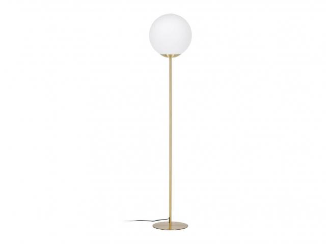 Vloerlamp MAHALA - Wit/goud