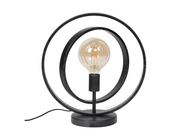 Tafellamp TURN - Charcoal