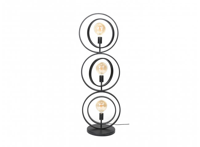 Vloerlamp TURN - Charcoal