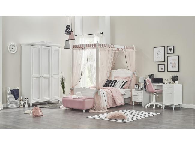 Kinderkamer LORA met hemelbed