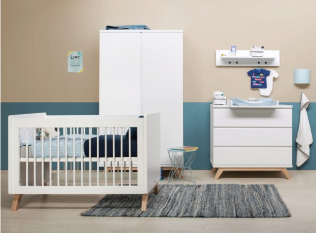 Babykamer LYNN - Wit