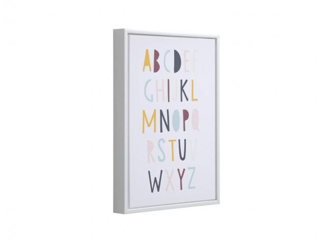 Alfabet afbeelding 29,7 x 42 c
