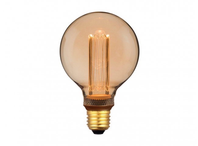 Lichtbron E27 LED 2,3W - Goud
