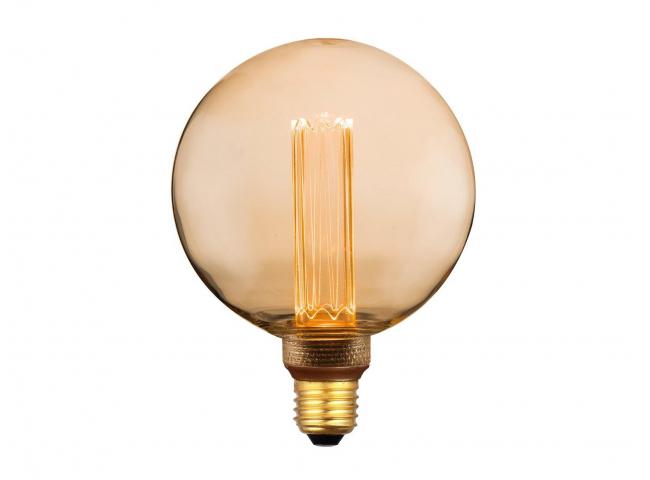 Lichtbron E27 LED 3,5W - Goud