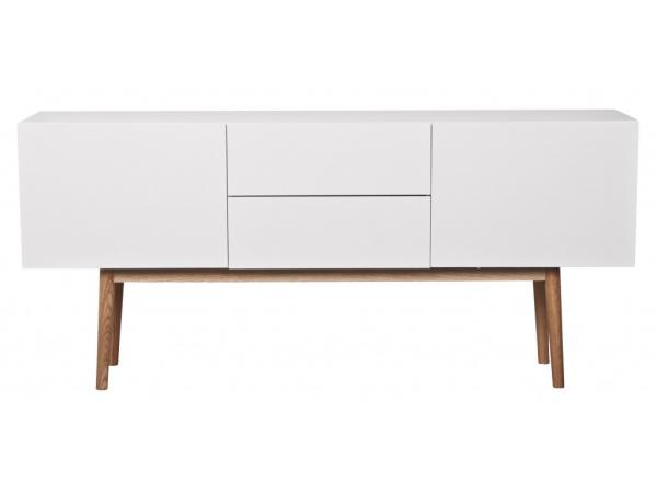 Kast Dressoir High On Wood Glossy White Wit Deba Meubelen