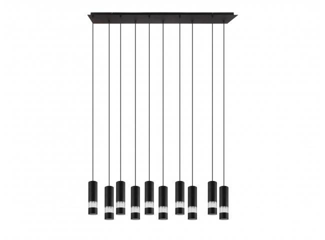 Hanglamp BERNABETA 10x - Zwart