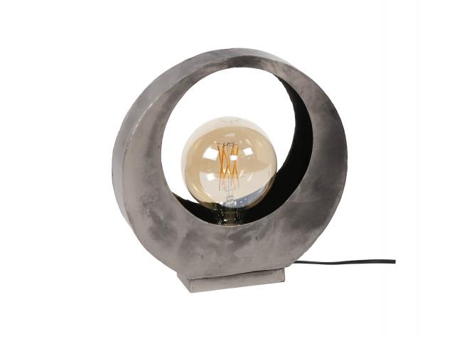 Tafellamp FULL MOON - Oud zilv