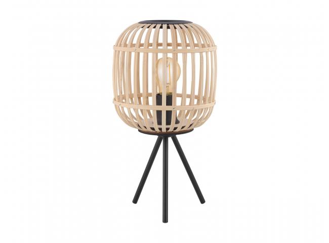 Tafellamp BORDESLEY - Hout nat