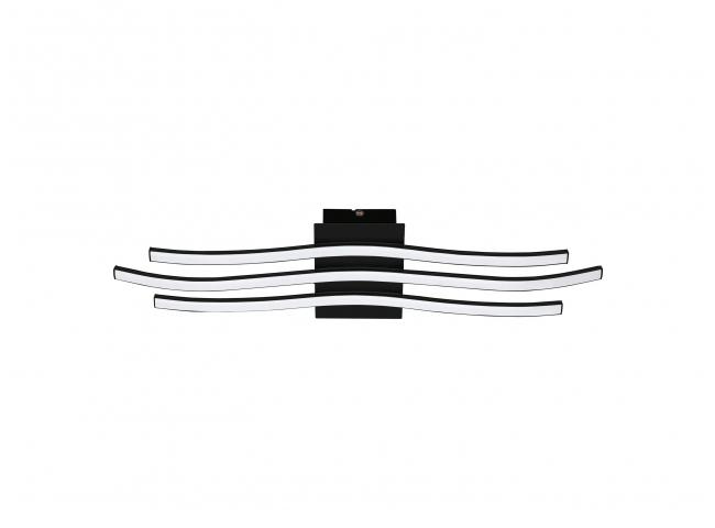 Plafondlamp RONCADE 1 - Zwart
