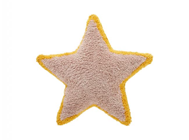 Kussen PRINCESS star - Roze/ok