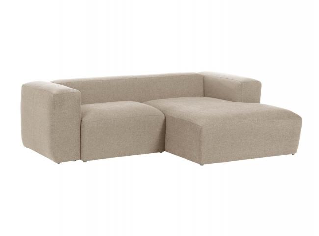 2-zit met chaise longue rechts