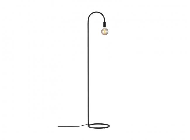 Vloerlamp PACO - Zwart