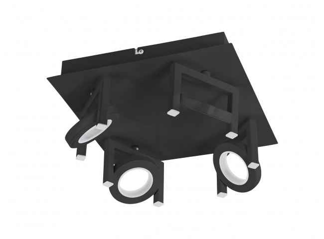 Spot TRASTANELLO 4x - Zwart