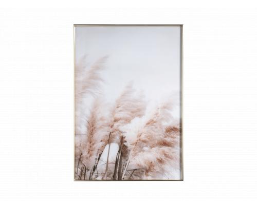 Wanddecoratie BREEZE - Wit/bru