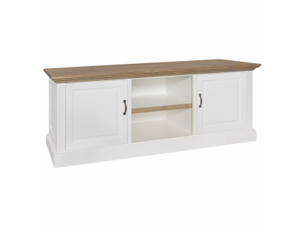 TV-meubel 'Oakdale' - kleur: Pure White