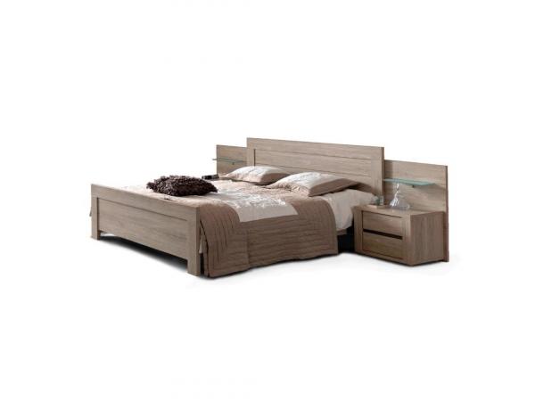 Bed 140x200 Hout.Bed 140x200 Rocca Wood Hout Deba Meubelen