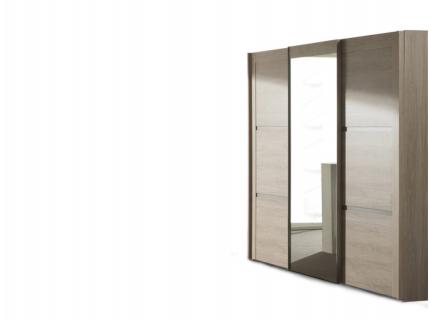 3-deurskast 'Rocca' - kleur: Wood