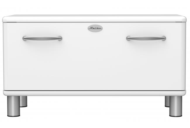 Bench met lade 'Malibu' - kleur: White