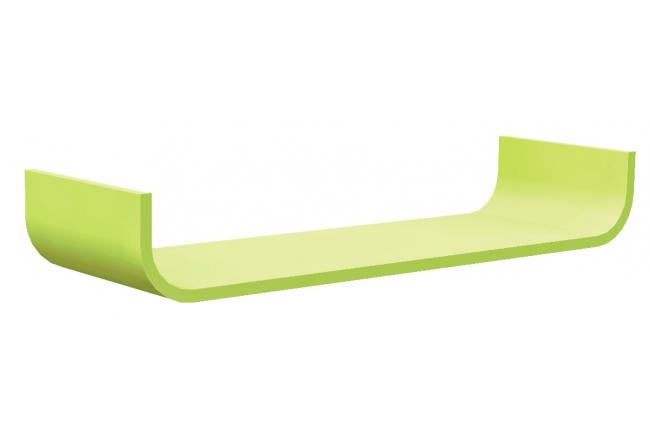 Muurplank 'Flower Wallshelf' - kleur: Gr