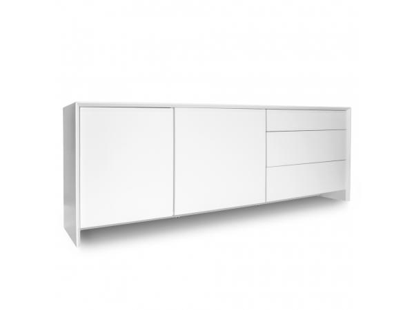 Kast dressoir profil wit wit wit deba meubelen