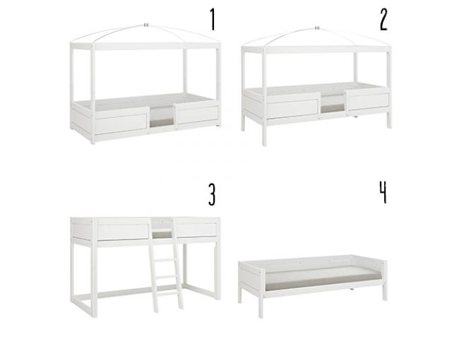 4 in 1 bed combinatie