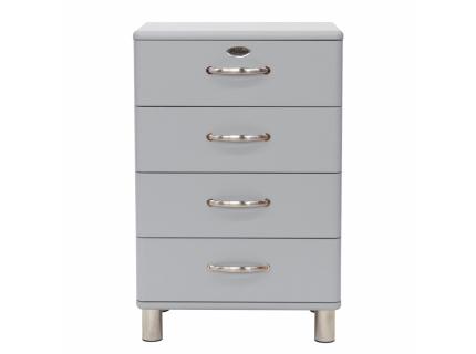 Ladenkast 'Malibu' - kleur: Aluminium