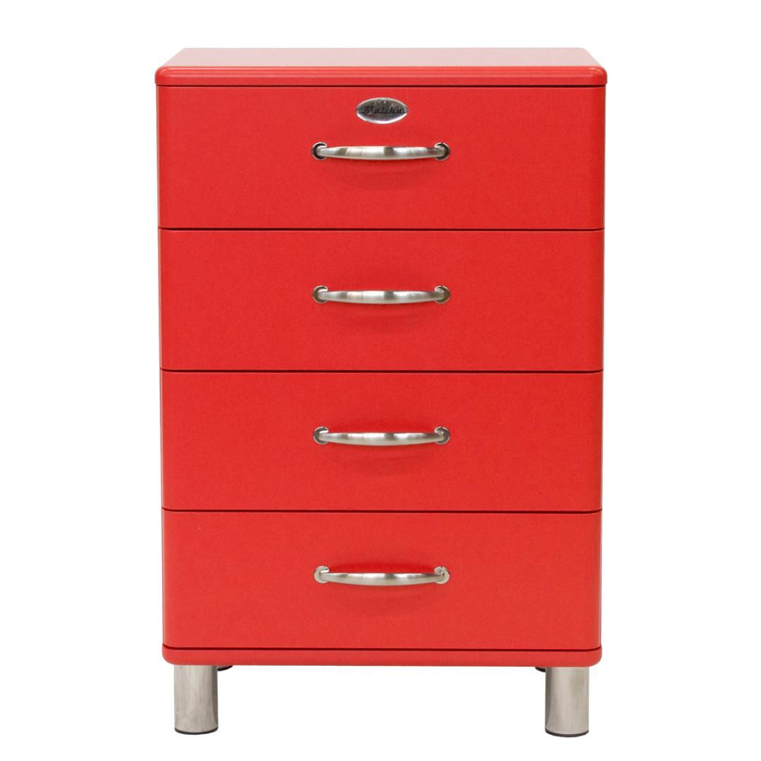 Malibu Kast Rood : Ladenkast malibu rood rood deba meubelen