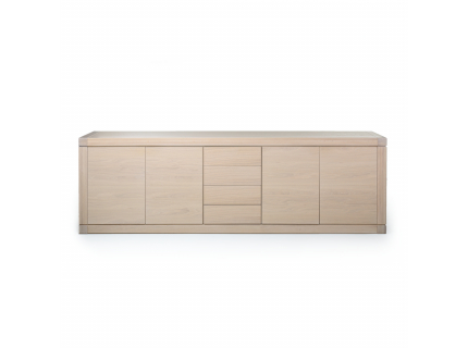 Dressoir 'Bergamo' - kleur: White wash