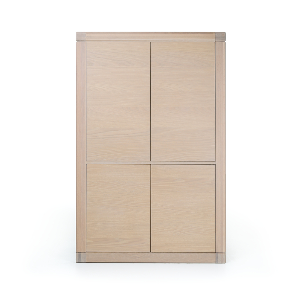 White Wash Kast : Bopita deurs kast basic wood white uni white wash bopita kasten