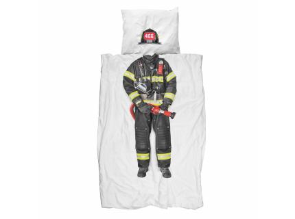 Dekbedovertrek brandweerman