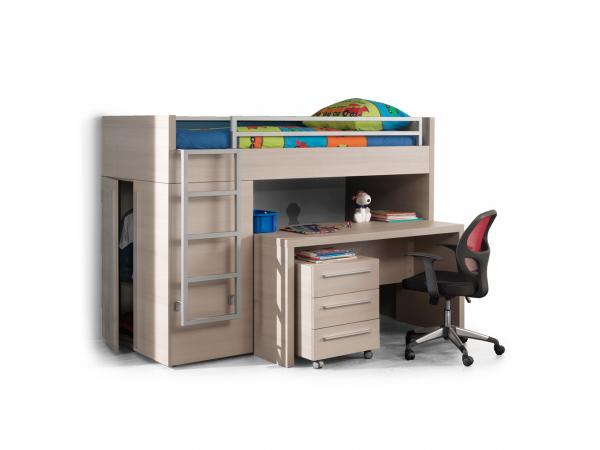 Hoogslaper bureau hout deba meubelen