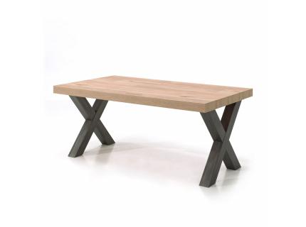Eetkamertafel 'Jan' - kleur: Old Oak