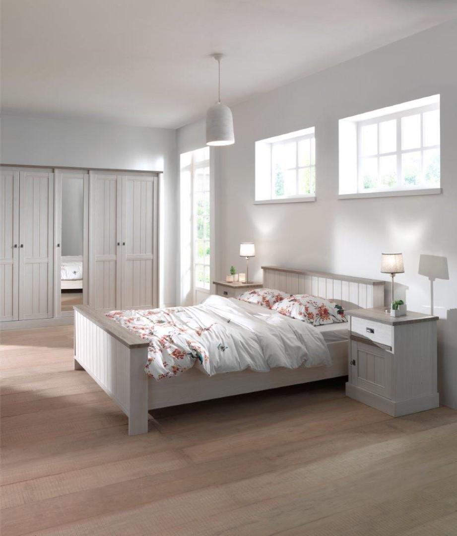 Slaapkamer Meubels Wit : Landelijke slaapkamer york wit deba meubelen