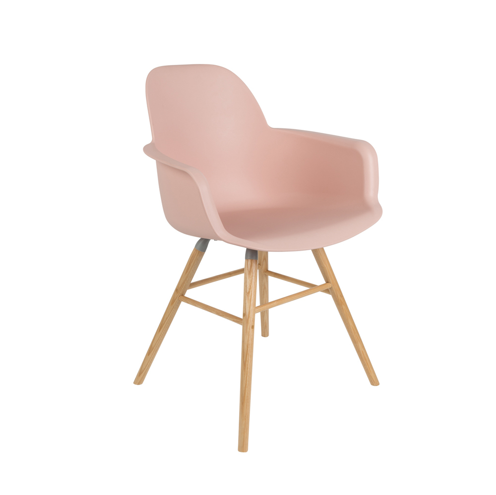 Roze Decoratie Woonkamer : Armstoel albert kleur old pink roze deba meubelen